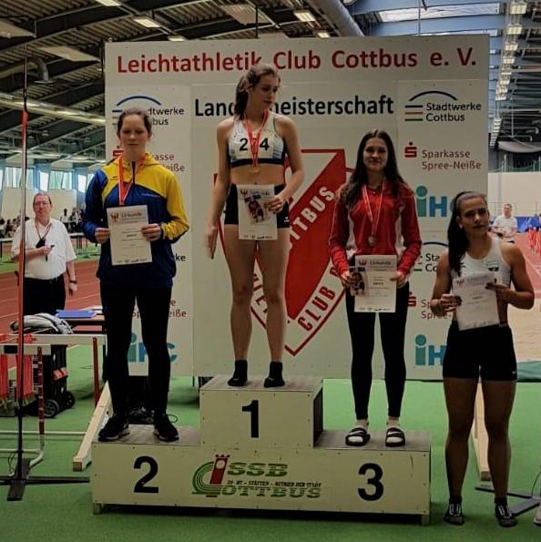 U16-Medaillen im Hallenmehrkampf