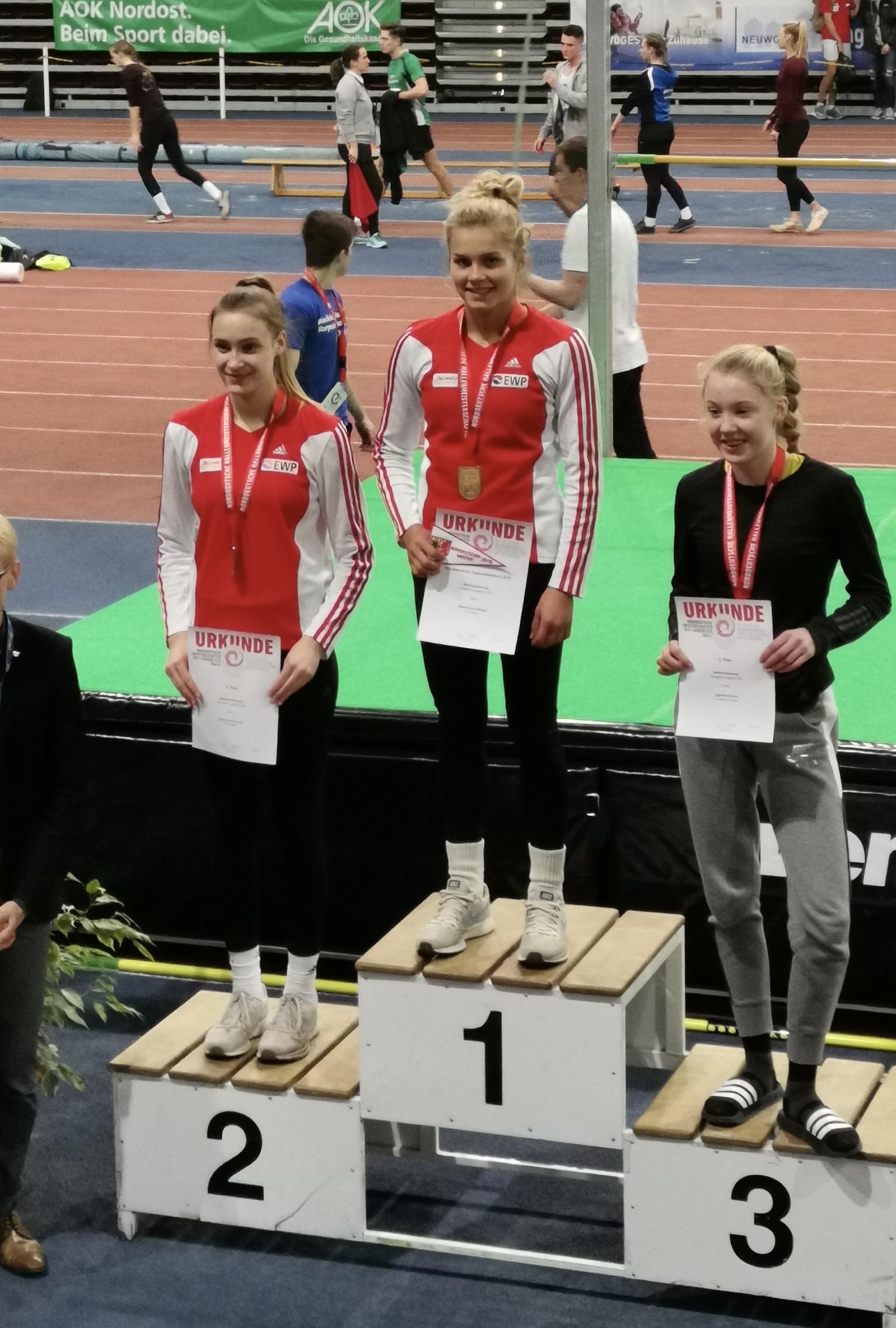 Norddeutsche Meisterschaften in Neubrandenburg