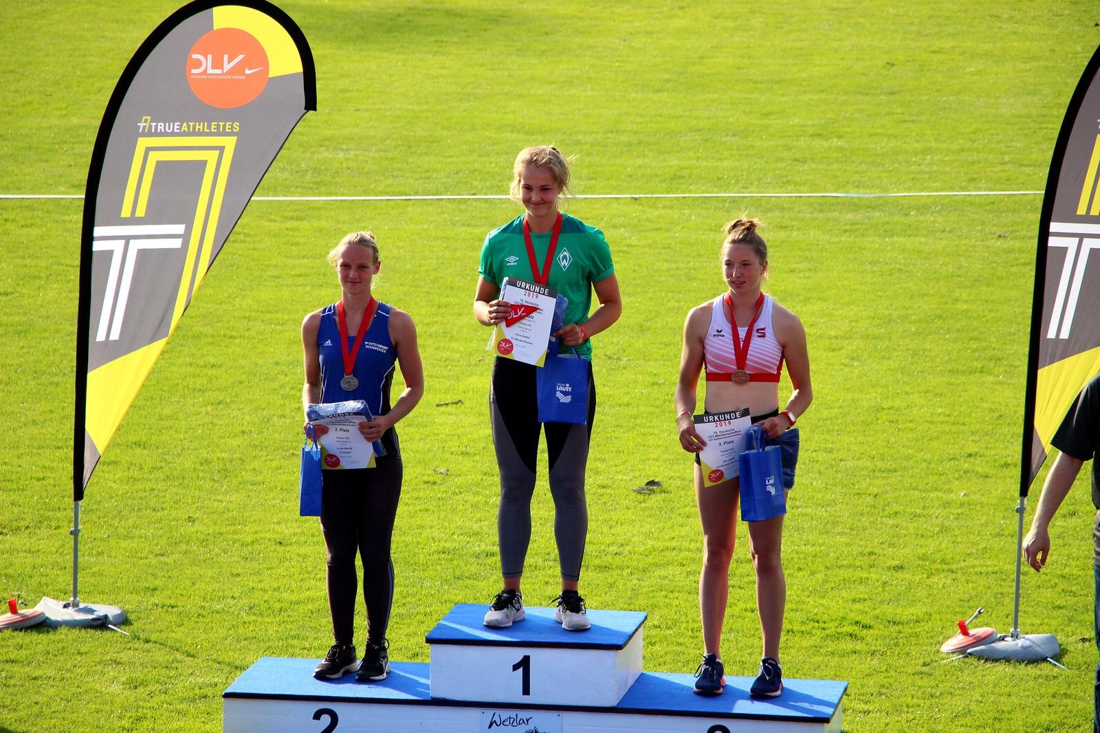 Stina holt sich den U23-Titel
