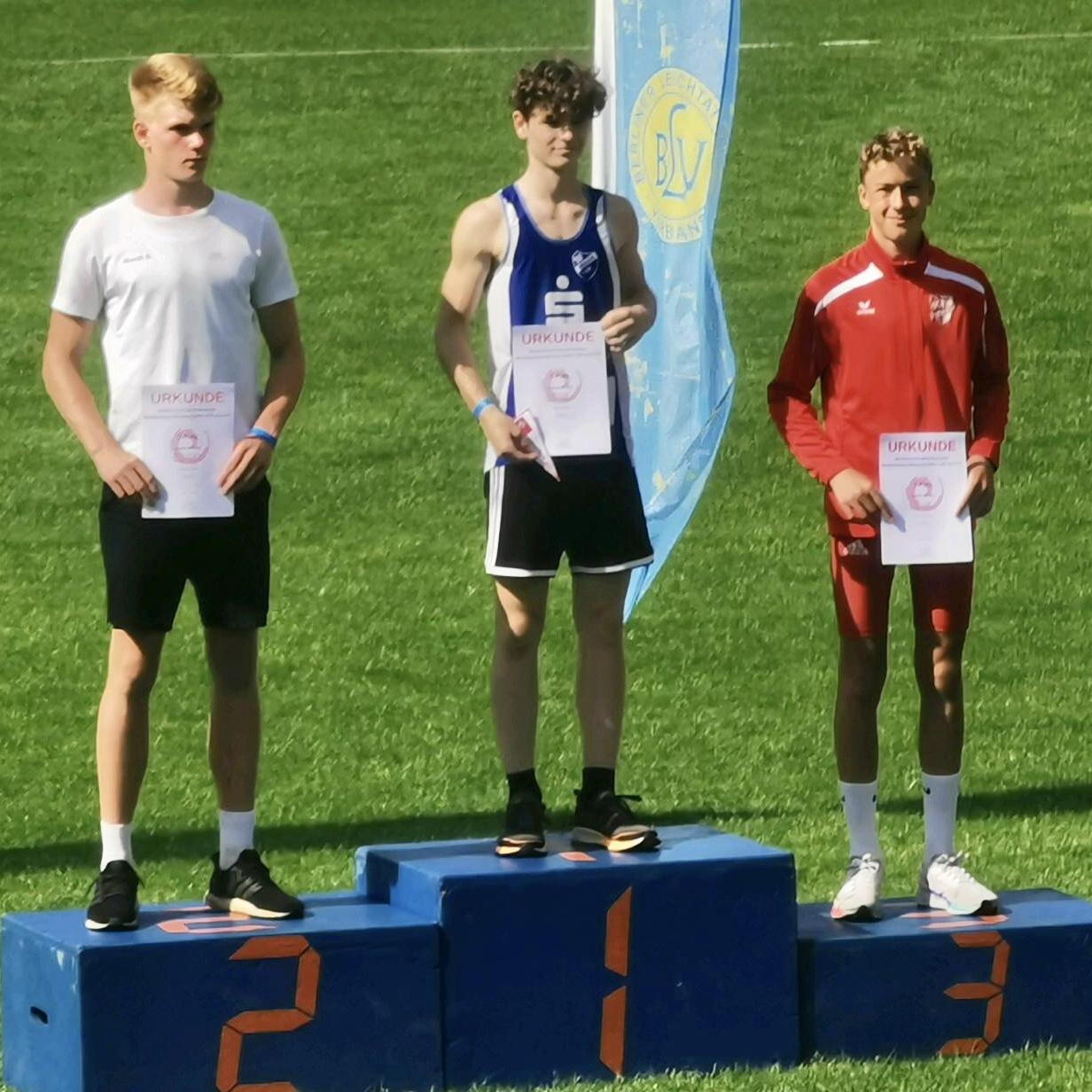 Moritz mit Bronze bei NDM